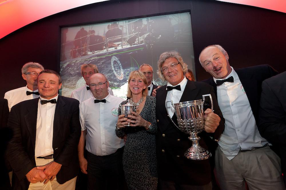 SPAIN, Alicante. 3rd November 2011. Volvo Ocean Race Legends Regatta Prizegiving.