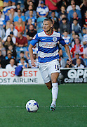Paul Konchesky during the Sky Bet Championship match between Queens Park Rangers and Cardiff City at the Loftus Road Stadium, London, England on 15 August 2015. Photo by Andy Walter.