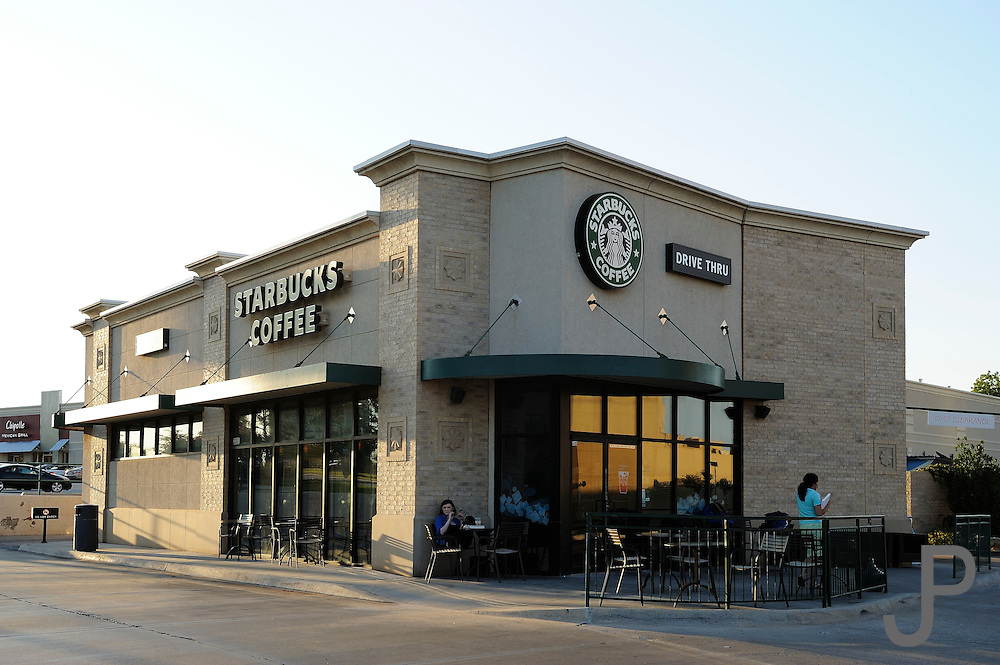 Starbucks Coffee at Northwest Expressway and Hefner Parkway, across from Baptist Hospital