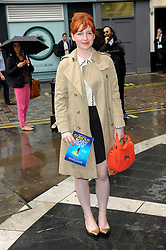 Image ©Licensed to i-Images Picture Agency. 08/07/2014. London, United Kingdom. Alice Levine during the press night for 'The Curious Incident Of The Dog In The Night-Time' at Gielgud Theatre. Picture by Chris Joseph / i-Images