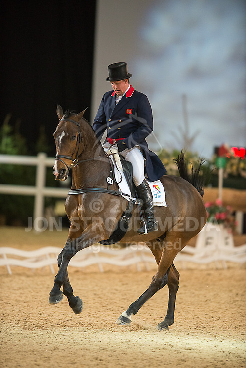 Matthew Wright (GBR) & If You Want II - Dressage - Express Eventing - Horse World Live - ExCel London - 17 November 2012