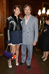CHARLOTTE STOCKDALE and MARC NEWSON at the LDNY Fashion Show and WIE Award Gala sponsored by Maserati held at The Goldsmith's Hall, Foster Lane, City of London on 27th April 2015.