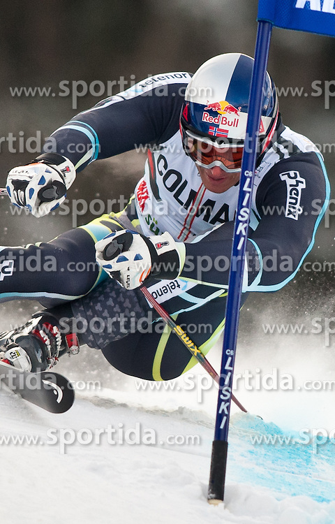 19.12.2010, Gran Risa, Alta Badia, ITA, FIS World Cup Ski Alpin, Men, Giant Slalom, im Bild Aksel Lund Svindal (NOR, #7). EXPA Pictures © 2010, PhotoCredit: EXPA/ J. Groder