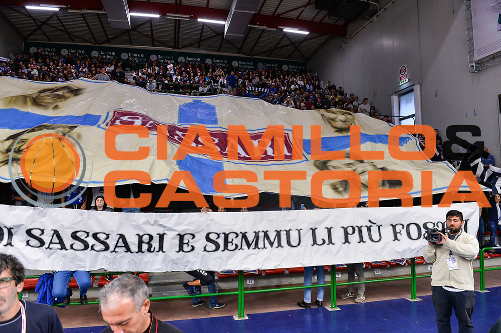 Commando Ultra' Dinamo<br /> Banco di Sardegna Dinamo Sassari - Olimpia EA7 Emportio Armani Milano<br /> LegaBasket LBA Poste Mobile 2017/2018<br /> Sassari, 29/10/2017<br /> Foto L.Canu / Ciamillo-Castoria