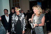 BARONESS DEBBIE VON BISMARCK; Princess Chantal of Hanover, Amanda Eliasch birthday dinner. North Audley st. London. 12 May 2010. -DO NOT ARCHIVE-© Copyright Photograph by Dafydd Jones. 248 Clapham Rd. London SW9 0PZ. Tel 0207 820 0771. www.dafjones.com.