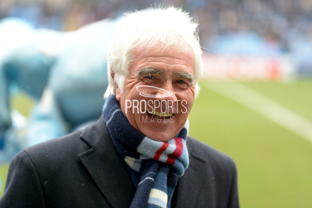Coventry City Legend Bobby Gould during the Sky Bet League 1 match between Coventry City and Bury at the Ricoh Arena, Coventry, England on 13 February 2016. Photo by Dennis Goodwin.