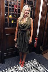 AMANDA WAKELEY at Vogue's Celebation of Fashion dinner held at The Albermarle, Brown's Hotel, Albermarle Street, London on 18th September 2008.