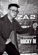 Rocky Fan, London, UK, 1986.