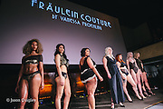 Fräulein Couture at Unmentionable: A Lingerie Exhibition at the Mission Theater in Portland, OR. Feb. 8, 2017. Photo by Jason Quigley www.photojq.com