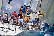 Avocation sailing Race 4 at Antigua Sailing Week.