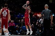 Micov Vladimir Ultimo tiro Vittoria <br /> A X Armani Exchange Olimpia Milano - Vanoli Cremona <br /> Basket Serie A LBA 2019/2020<br /> Milano 09 February 2020<br /> Foto Mattia Ozbot / Ciamillo-Castoria