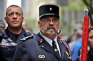 9/11 Memorial ceremony @ 5th ave Cathedral, Manhattan, NYC. Sep 10, 11
