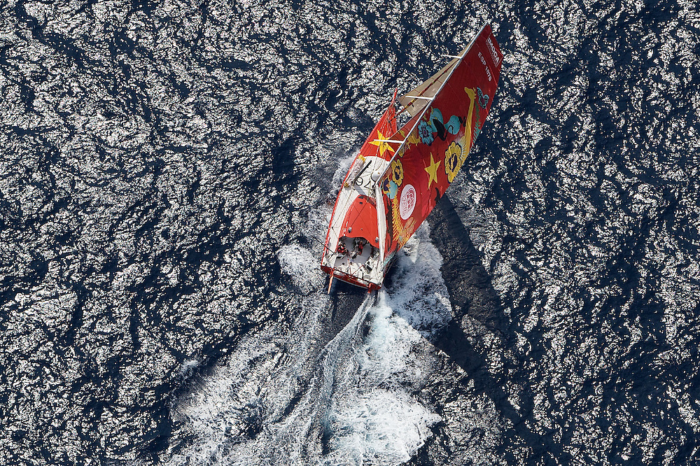 SPAIN, Cartagena, 15th Sept 2009, The Istanbul Europa Race, IMOCA Open 60, 1876 (Estrella Damm).