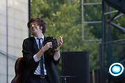 Saturday, August 2, 2008; Okkervil River performs at Lollapalooza 2008.<br /> Photo by Bryan Rinnert