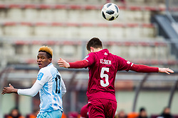 Amarachi Osuji Bede of ND Gorica during football match between NK Triglav Kranj and ND Gorica in Round #24 of Prva Liga Telekom Slovenije 2017/18, on March 18, 2018 in Sportni park Kranj, Kranj, Slovenia. Photo by Ziga Zupan / Sportida