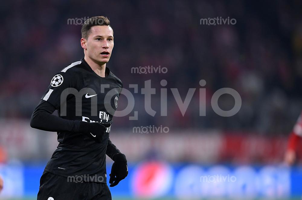 FUSSBALL CHAMPIONS LEAGUE SAISON 2017/2018 GRUPPENPHASE FC Bayern Muenchen - Paris Saint-Germain               05.12.2017 Julian Draxler (Paris Saint-Germain)