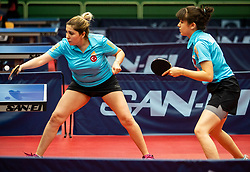 ERTIS Ümran and DEMIR Merve (TUR) during Team events at Day 4 of 16th Slovenia Open - Thermana Lasko 2019 Table Tennis for the Disabled, on May 11, 2019, in Dvorana Tri Lilije, Lasko, Slovenia. Photo by Vid Ponikvar / Sportida