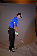 Photo shoot with PGA Tour player Bubba Watson at the Orlando Country Club for Volvik  in Orlando, Florida on Dec. 19, 2016.<br /> <br /> <br /> ©2016 Scott A. Miller