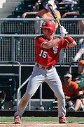March 8, 2009: Pratt Maynard of the North Carolina State Wolfpack in action during the NCAA baseball game between the Miami Hurricanes and the North Carolina State Wolfpack. The 'Canes defeated the Wolfpack 9-7.