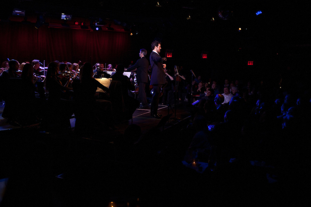 Luca Pisaroni, bass-baritone, performing at Le Poisson Rouge on October 24, 2011.