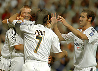 Fotball, 25. august 2004,  Real Madrid - Wisla Cracow, UEFA Champion's League previuous phase<br />