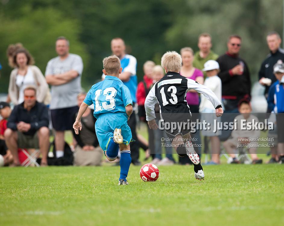 B10 Trud Rezerv (RU) - KäPa United. Helsinki Cup 10.7.2009. Photo: Jussi Eskola