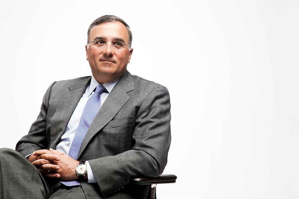 Michael J. Angelakis serves as Vice Chairman and Chief Financial Officer for Comcast Corporation and was pictured at the company's headquarters in Philadelphia.
