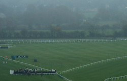Runners and riders in the BetVictor Gold Cup Handicap Chase during day one of the November Meeting at Cheltenham Racecourse, Cheltenham