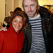 NLD/Amsterdam/20110324 - Opening Hers and His expositie van Eddy Zoey, Ruud de Wild en partner Aafke Burggraaff