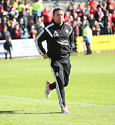 Aberdeen manager Derek McInnes - Dundee v Aberdeen, SPFL Premiership at Dens Park<br /> <br />  - &copy; David Young - www.davidyoungphoto.co.uk - email: davidyoungphoto@gmail.com