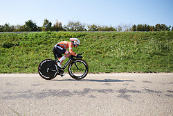 Amy Pieters (NED) at Boels Ladies Tour 2018 - Stage 6, an 18.6km individual time trial in Roosendaal, Netherlands on September 2, 2018. Photo by Sean Robinson/velofocus.com