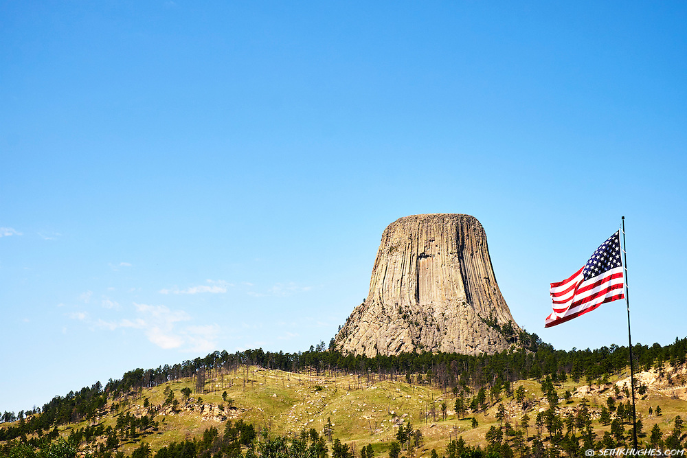 Devil's Tower National Monument, Black Hills, Wyoming