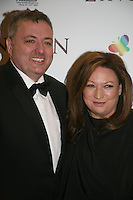 Richard Corrigan and Norah Casey at the Lincoln film premiere Savoy Cinema in Dublin, Ireland. Sunday 20th January 2013.