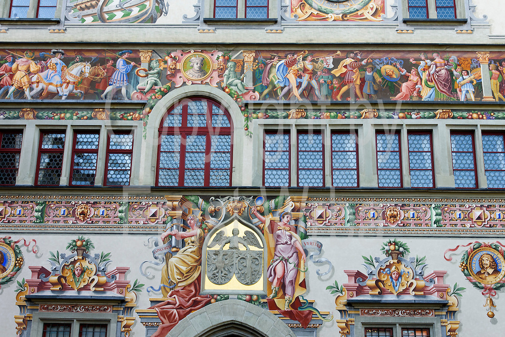 Altes Rathaus, Altstadt von Lindau, Bodensee, Bayern, Deutschland