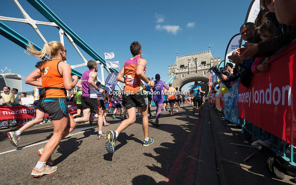 The Virgin Money London Marathon 2014<br /> 13 April 2014<br /> Photo: David Levenson/Virgin Money London Marathon<br /> media@london-marathon.co.uk