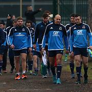 20170123 Rugby : Allenamento nazionale