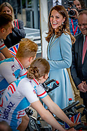 PRINCESS KATE IN LUXEMBURG DUCHESS OF CAMBRIDGE