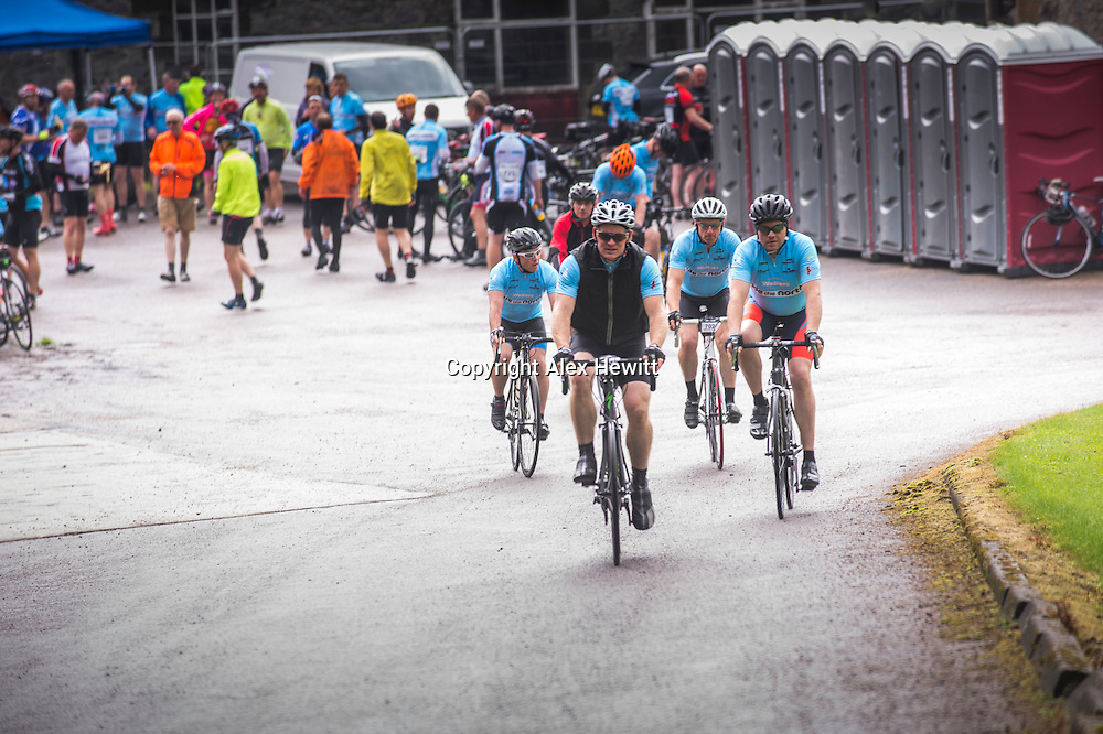 Ride the North 2016<br /> <br /> Day 2 - Sunday. Culloden Academy to Rhynie.