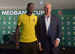 SOUTH AFRICA: JOHANNESBURG: Kaizer Chiefs coach Ernst Middendorp and the teams player Kgotso Moleko poses for photographs during the Nedbank cup press conference, Gauteng.<br />Picture: Itumeleng English/African News Agency(ANA)<br />23.01.2019
