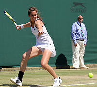 Tennis - The Wimbledon Championships -<br /> Sabina Sharipova ( UZB ) vs. Ulrikke Eiken ( NOR )<br /> Ulrikke Eiken ( NOR )<br /> at the All England Lawn Tennis and Croquet Club