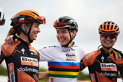 Anna van der Breggen (NED) at sign on for GP de Plouay - Lorient Agglomération Trophée WNT, a 128 km road race in Plouay, France on August 31, 2019. Photo by Sean Robinson/velofocus.com