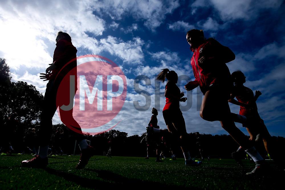 Bristol City Women during training at Failand - Mandatory by-line: Robbie Stephenson/JMP - 26/09/2019 - FOOTBALL - Failand Training Ground - Bristol, England - Bristol City Women Training