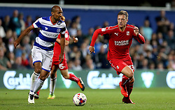 Luke Norris of Swindon Town runs with the ball - Mandatory by-line: Robbie Stephenson/JMP - 10/08/2016 - FOOTBALL - Loftus Road - London, England - Queens Park Rangers v Swindon Town - EFL League Cup