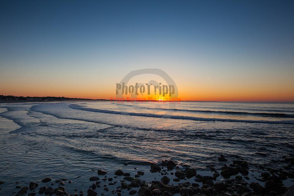 Today's  sunrise  at Narragansett Town Beach, Narragansett, RI,  May  17, 2013. #Sunrise #RhodeIsland #Beach #Surf #401