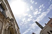 Palazzo Granafei, è la residenza baronale dell'omonima famiglia che ebbe in feudo Sternatia dal 1733. La sua costruzione è attribuita all'architetto leccese Mauro Manieri prima del 1743 e fu realizzato seguendo lo stile del barocco salentino. Sorge al posto di un precedente castello bizantino e poi aragonese, di cui sono visibili i resti in un portone con arco durazzesco di un'abitazione privata.<br /> La facciata nobiliare dell'edificio è caratterizzata da un elaborato portale d'ingresso, sormontato dallo stemma della famiglia Granafei, e da una lunga balaustra di coronamento che interessa tutto il prospetto. Il lato posteriore del complesso presenta una forma austera, priva di qualsiasi elemento decorativo, e si distingue per il basamento scarpato. Il palazzo è strutturato in tre livelli distribuiti attorno ad una corte interna. Gli ambienti comprendono le stanze residenziali, i magazzini, alcuni locali adibiti a Corte di Giustizia e carceri. Il primo piano è decorato con affreschi rococò di scene mitologiche e di divinità, opera di artisti salentini tra cui Serafino Elmo. Tra le opere d'arte conservate è rilevante una tela seicentesca di Cesare Fracanzano.