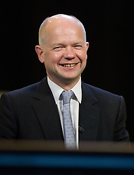 © Licensed to London News Pictures. 05/10/2011. Manchester, UK. William Hague at the Conservative Party Conference on the morning of 5th August 2011. Photo credit : Joel Goodman/LNP