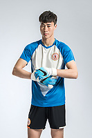 **EXCLUSIVE**Portrait of Chinese soccer player Xu Jiamin of Beijing Renhe F.C. for the 2018 Chinese Football Association Super League, in Shanghai, China, 24 February 2018.