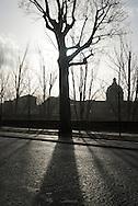 France. Paris. the french academy and the quay du Louvre/ le quai du Louvre et  l academie francaise