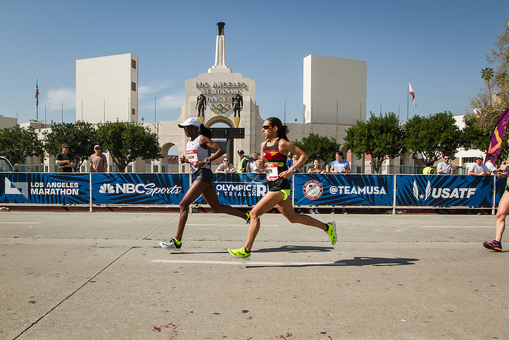 USA Olympic Team Trials Marathon 2016, Bawcom, Linden, LA Coliseum