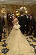 Lauren Bush. Crillon Haute Couture Ball. Crillon Hotel, Paris. 2 December 2000. © Copyright Photograph by Dafydd Jones 66 Stockwell Park Rd. London SW9 0DA Tel 020 7733 0108 www.dafjones.com